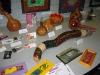 Gourd art at Pelican Art Gallery Exhibit 2006