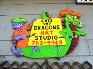 Cats & Dragons Art Studio Kids Classes Petaluma